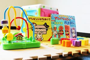 お子様用の遊び場があります。